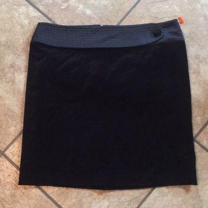 Black Velour Skirt